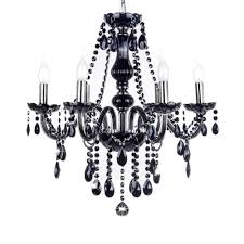 Crystal And Black Chandelier Black Crystal Chandelier For Any Room Installation Hupehome
