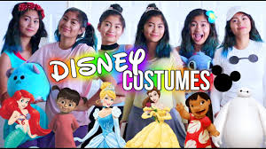 diy last minute disney costumes for halloween juliannxo youtube