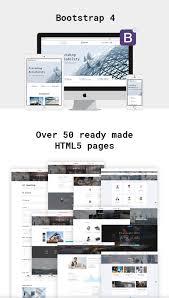 smartech u2014 bootstrap multipage construction company website