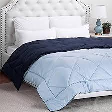 Light Comforters Amazon Com Amazonbasics Reversible Microfiber Comforter Full