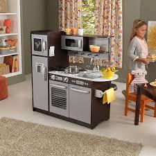 kitchen awesome kidkraft uptown espresso kitchen 53260 kidkraft