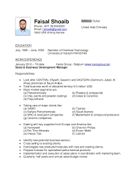 Data Entry Responsibilities Resume Cv Faisal Shoaib