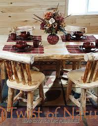 Log Dining Room Table Handmade Log Dining Table Wood Dining Table Log Dining
