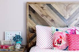 Reclaimed Wood Headboard How To Build A Diy West Elm Alexa Bed
