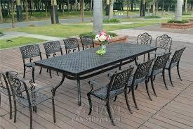Patio Furniture Cast Aluminum Cast Aluminium Patio Table Nova Cast Aluminium Garden Furniture Uk