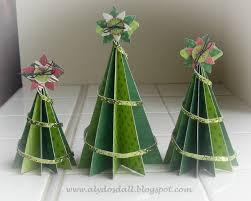 paper christmas tree christmas lights decoration