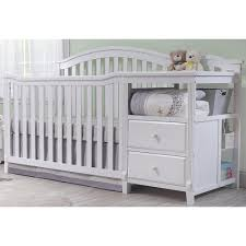 Sorelle Princeton 4 In 1 Convertible Crib With Changer by Baby Bed With Changing Table Attached Wood U2014 Thebangups Table