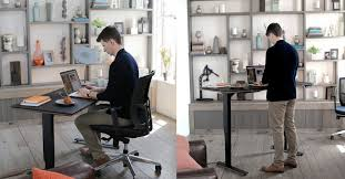 sit stand desk chair how sit stand desks can elevate your health and productivity cantoni