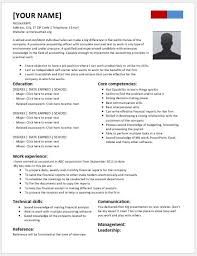 college graduate accounting resume contents layouts u0026 templates
