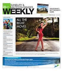 sunbury u0026macedonrangesweekly230713 by the weekly review issuu