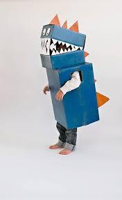 Kids Robot Halloween Costume Cardboard Box Halloween Costumes Diy Cardboard Dinosaur
