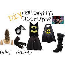 Batman Batgirl Halloween Costumes Diy Batgirl Costume Starsandjewels Polyvore Featuring