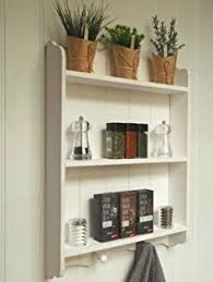 Shabby Chic Wall Shelves by Shabby Chic Wall Unit Shelf Storage Cupboard Cabinet Hooks French
