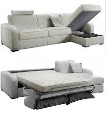 canapé lit d angle convertible canapé d angle convertible réversible en cuir qualité prix bas