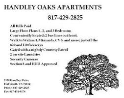 3 Bedroom Apartments Fort Worth All Bills Paid Conveniently Located With Easy Access To 820 And
