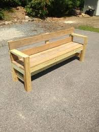 Outdoor Wood Bench Instructions by Easy Outdoor Benches Gardening Ideas Pinterest Backyard