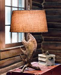 Moose Home Decor Lamps Cabin Lamps Sale Home Decor Color Trends Photo On Cabin