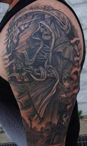 the reaper by larry brogan tattoos