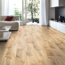 B Q Bathroom Laminate Flooring Brown Hickory Effect Laminate Flooring 2m Pack Departments