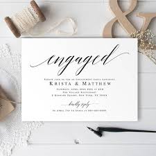 the 25 best engagement invitation template ideas on pinterest
