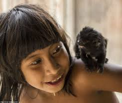 amazon black friday brazilian hair sale extraordinary photos of the awa amazon tribe daily mail online