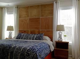 bedroom table lamp open self nightstand blue decorative fabric