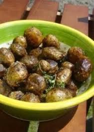 comment cuisiner les pommes de terre grenaille pommes de terre grenailles au thym