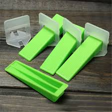 Tile Installation Tools 50pcs Plastic Large Tile Leveling Device Spacer System Building