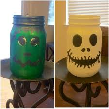 Decorating Mason Jars For Halloween by