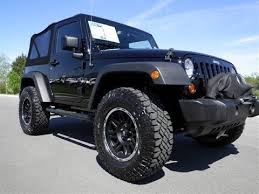 2013 jeep wrangler mileage sold 2013 jeep wrangler sport 4x4 3 6l auto black warn m8000 winch