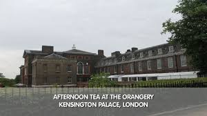 afternoon tea at the orangery kensington palace london youtube
