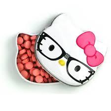 kitty glasses sour candy tin 0 8oz