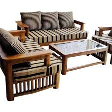 Wooden Sofa Furniture Wooden Sofa Set At Rs 20000 Set S Pune Id 12539836330
