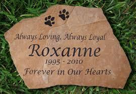 headstones for dogs garden memorials arizona flagstone pet memorial grave marker