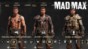 mad max costume mad max all max s gears upgrades weapons max fully