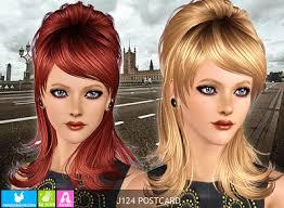 sims 3 custom content hair sims 3 female hair newsea postcard hair custom content