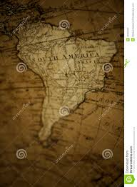 World Map South America by Old World Map South America Stock Photo Image 40297027