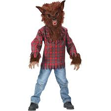 fun world werewolf boys u0027 halloween dress up role play costume m