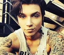 andy biersack with blonde hair andy black images on favim com