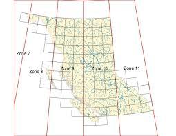 utm zone map bc utm zones