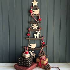 nordic ladder hanging christmas tree by the little picture