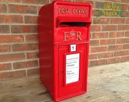 Letter Furniture Cast Iron Er Royal Mail Red Post Box Letter Mail Box Post Office