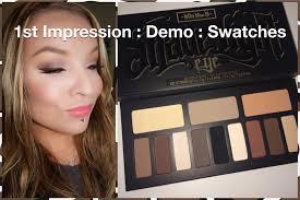 kat von d shade light eye contour palette 1st impression demo swatches kat von d shade light eye