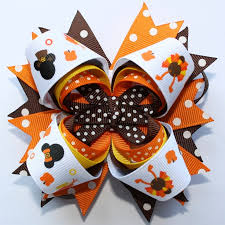 thanksgiving hair bows 62 best hair bows images on hairbows crowns and hair