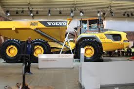 volvo dump truck volvo dumper a60h bauma 2016 münchen pinterest volvo