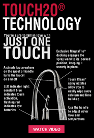 Delta Touch Faucet Red Light Delta Faucet Kitchen Lowe U0027s Canada