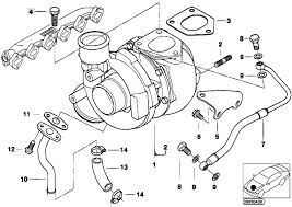 original parts for e46 330d m57 touring engine turbo charger