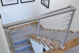 Katherine Ky Modern Stainless Steel Cable And Glass Railing