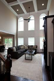 two story living room two story window living room traditional with 2 windows decorative