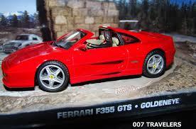 fake ferrari 007 travelers 007 vehicle ferrari f355 gts goldeneye 1995